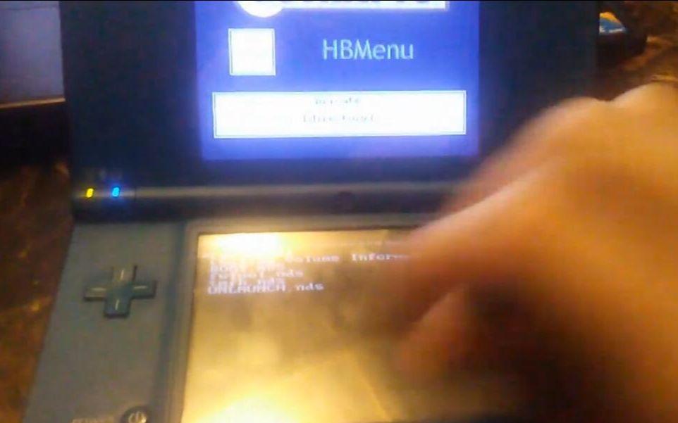 NDSi 自制固件HiyaCFW+DSiWare 安装教程_哔哩哔哩 (゜-゜)つロ 干杯~-bilibili