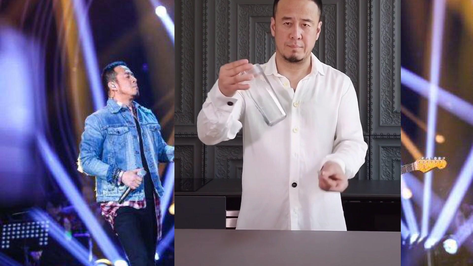 杨坤不唱歌来变魔术了技术精湛有模有样