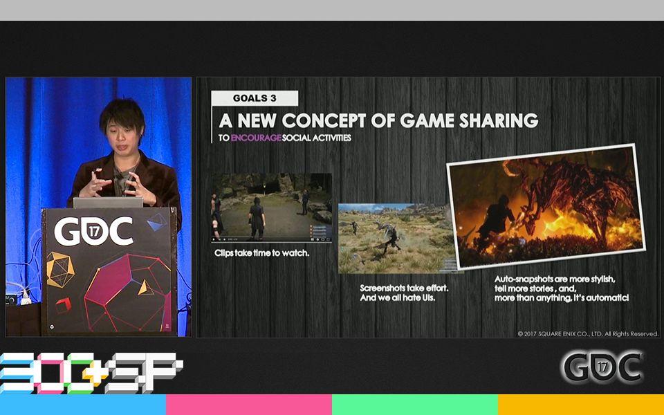 [300+SP]|字幕| GDC2017:「普朗托的Facebook:如何让『FFXV』中的同伴AI拍照记录你的冒险之旅