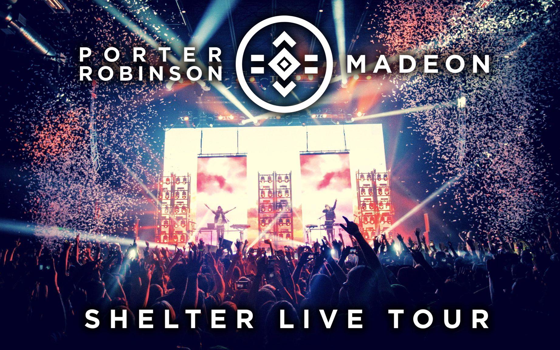 Porter robinson madeon shelter live tour atlanta for Madeon y porter robinson