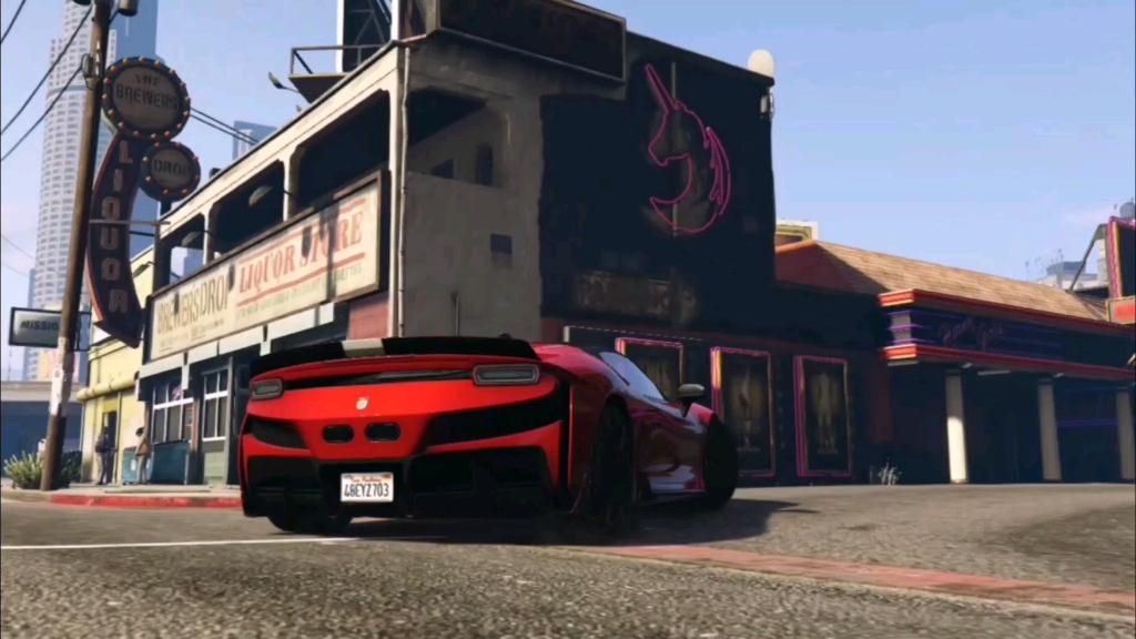 【GTA5】Welcome to lossantos欢迎来到洛圣都!BGM为《Morsmordre》