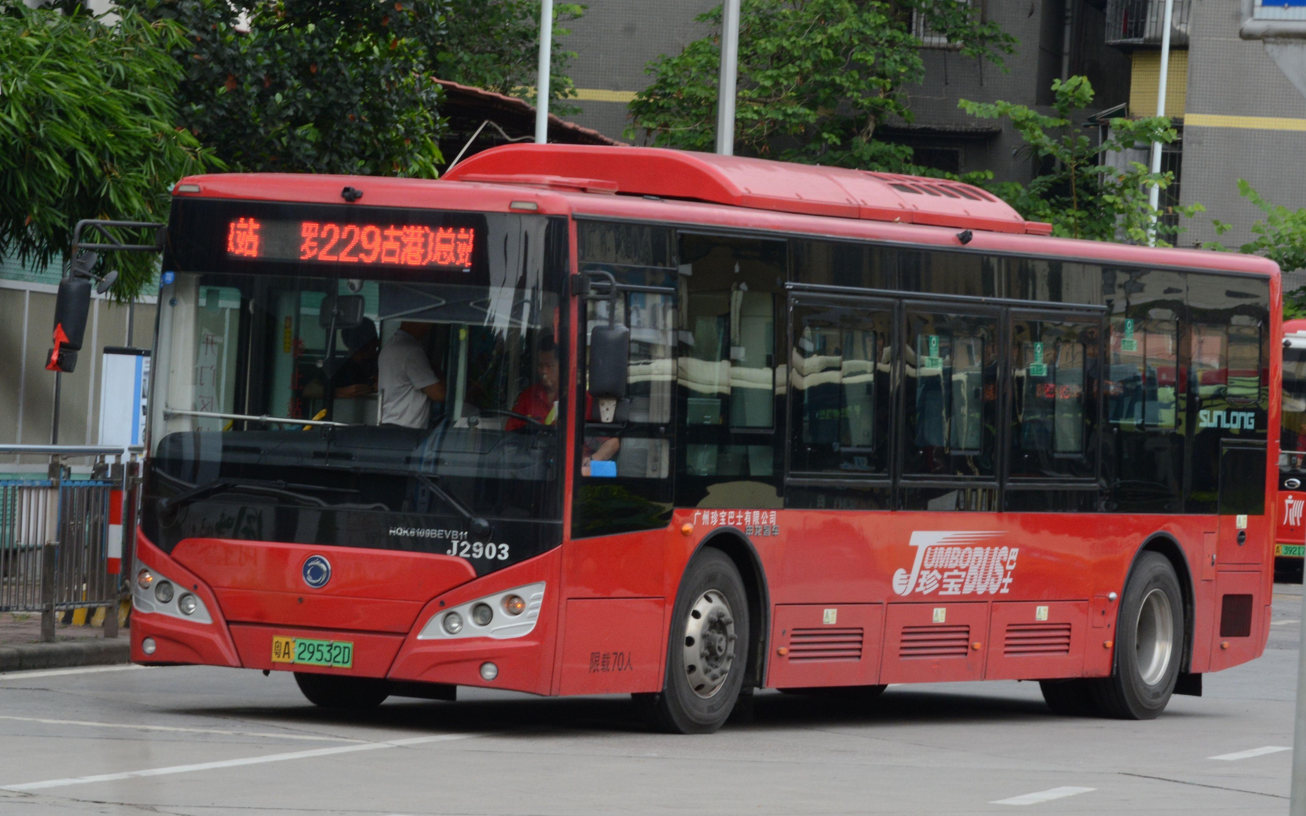 【SCPA】广州229路罗冲围(松南路)总站→琶洲石基村(黄埔古港)总站