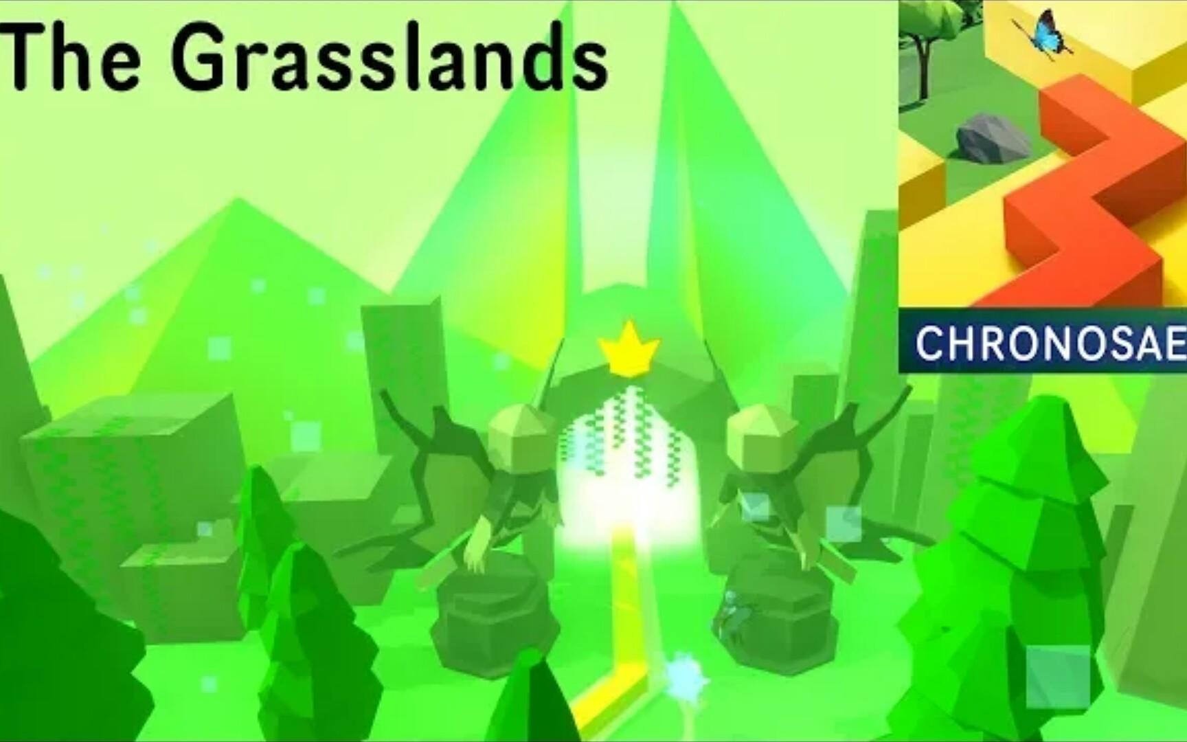 【跳舞的线】饭制关卡 the grasslands 草地(by lord jabeebus)[azure