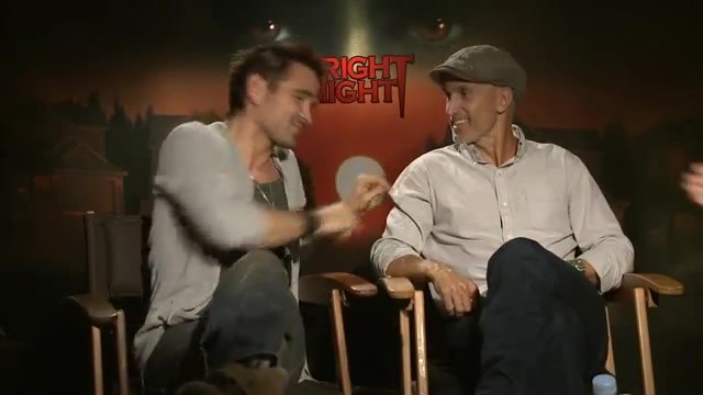 'Fright Night' Colin Farrell and Craig Gillespie Interview 合辑
