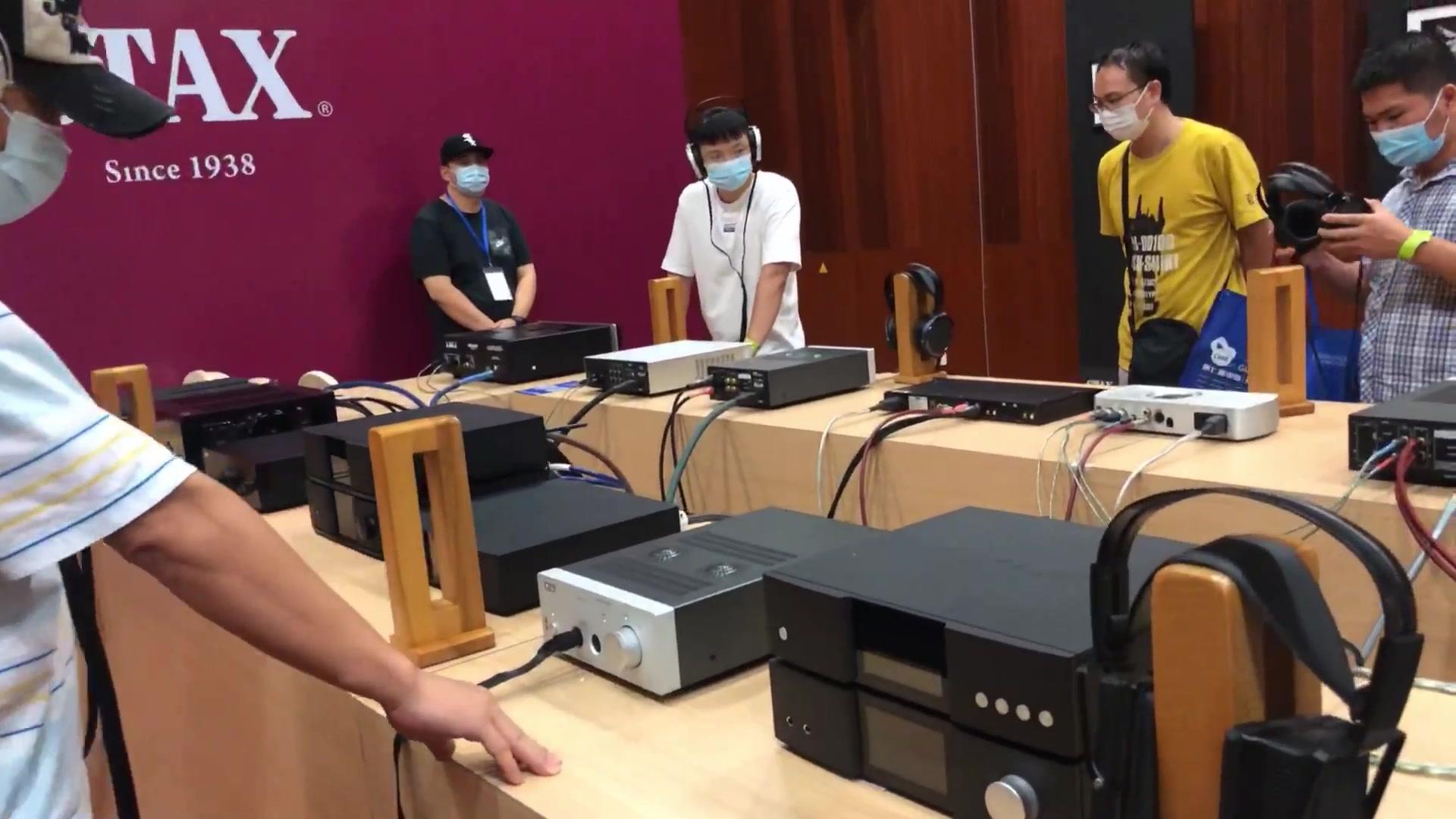 #云逛展#【山茶播】2020广州国际耳机展快览