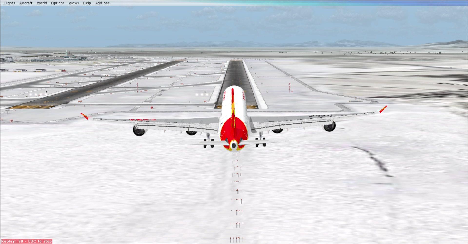 FSX】2019 1 16 RJCC A340-600_哔哩哔哩(゜-゜)つロ干杯~-bilibili