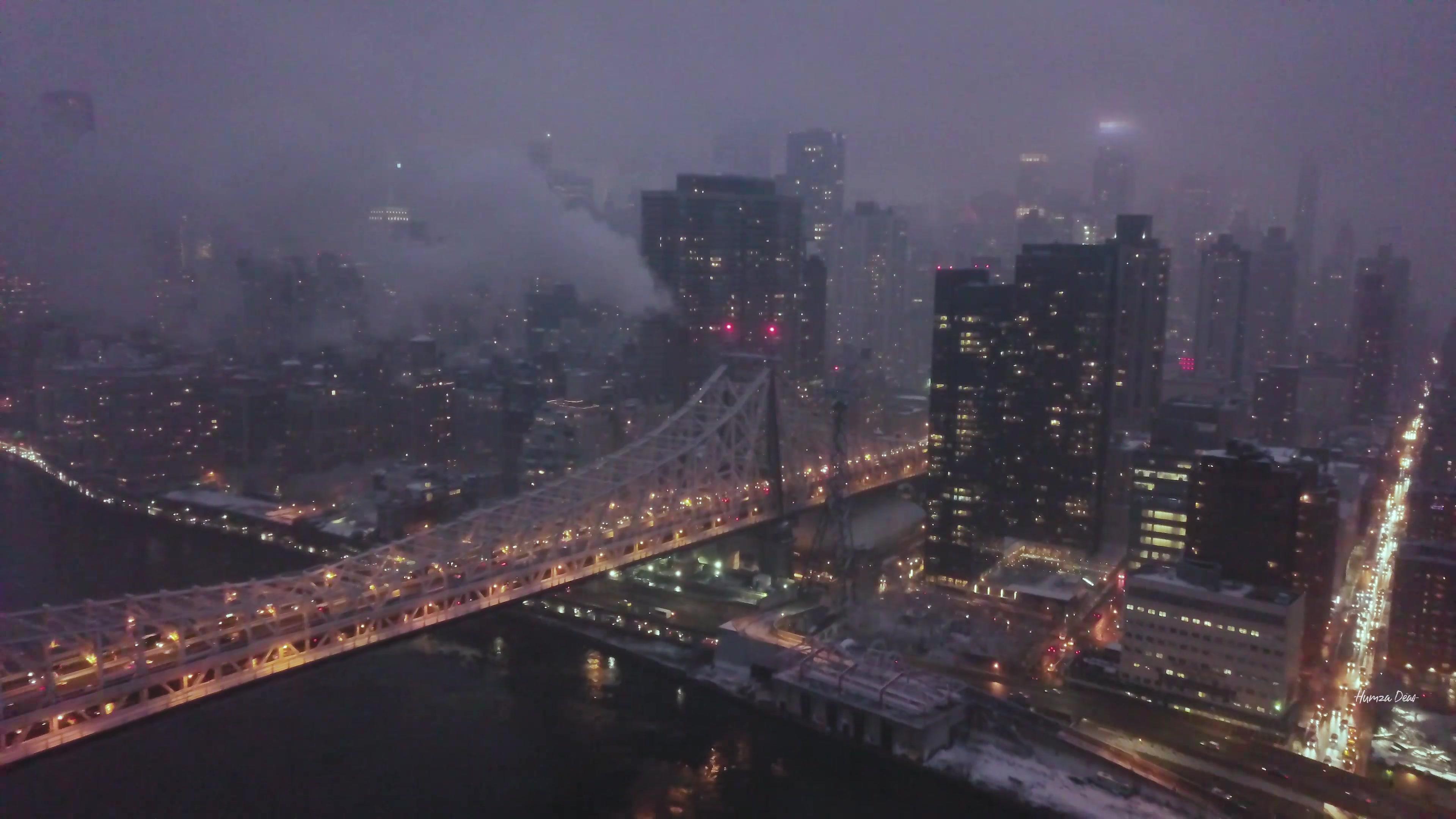 暴风哹�#�a�_2017纽约12月暴风雪过后 a storm passing