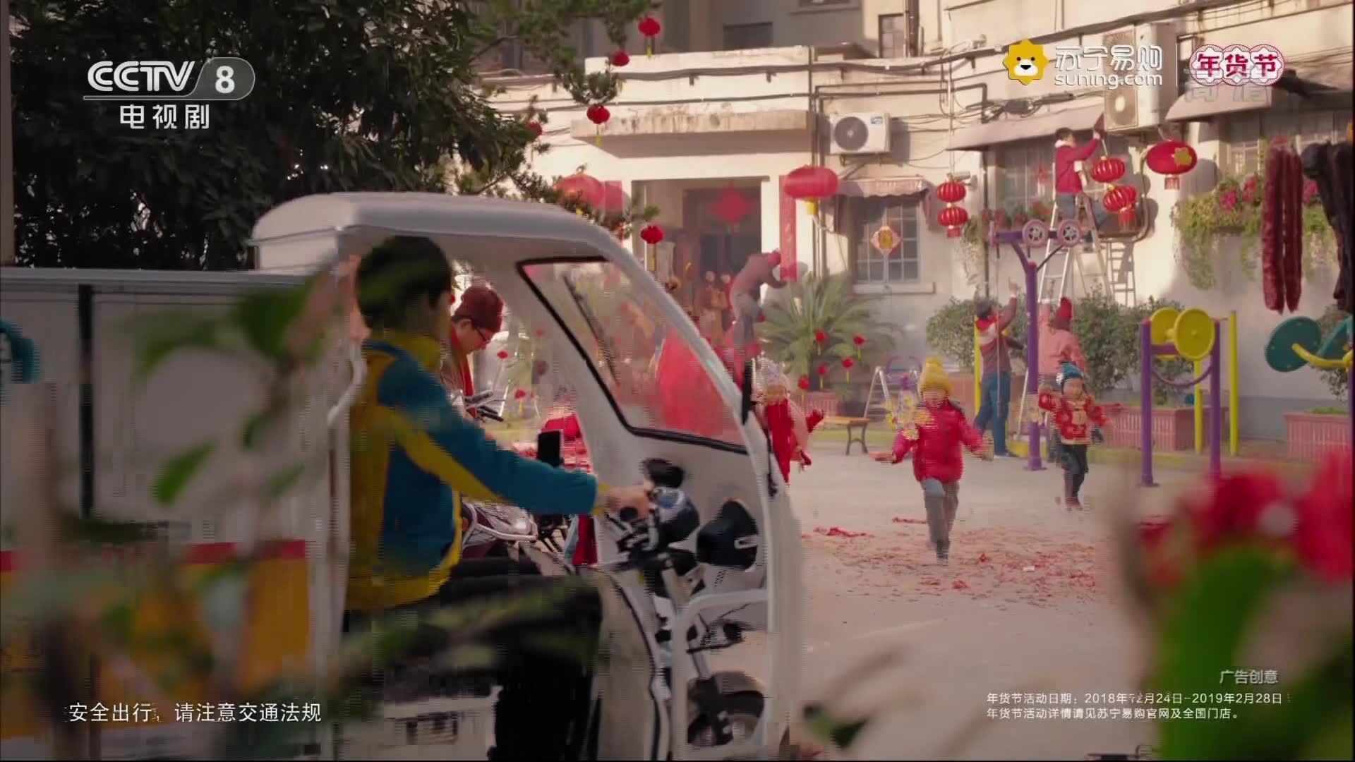 央视广告欣赏-苏宁易购年货节-2