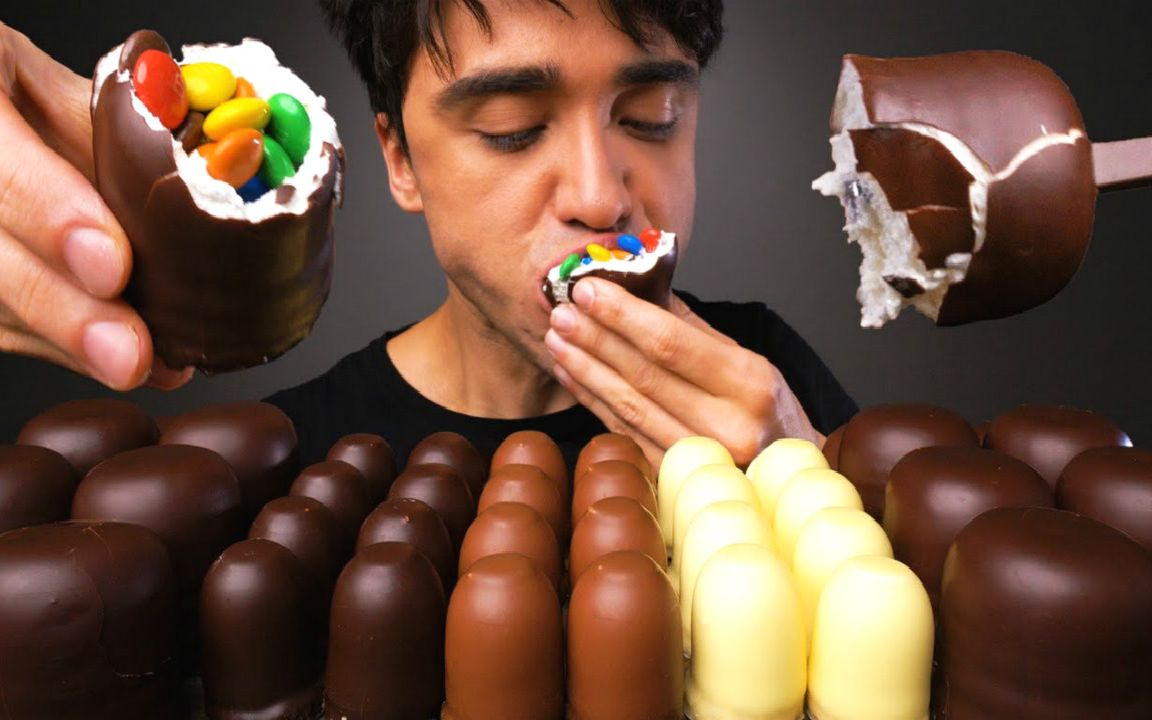 脆皮棉花糖_☆ McBang ☆ 德式Schaumküsse巧克力脆皮棉花糖、MMs巧克力豆、巧克 ...