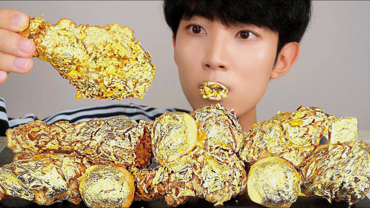 【jaeyeol】金鸡24K木桶脆吃声音秀(2019年8月17日21时45分)