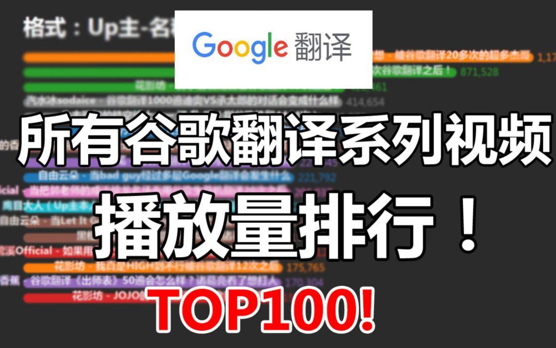 出师表搞笑翻译_【真·补番列表】b站所有谷歌翻译系列视频播放量排行Top100 ...