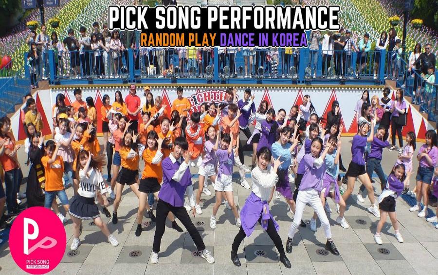 场舞_【RPD】韩国K-Pop分队随机舞蹈游戏第三场!(THEJ舞团)_哔哩哔哩