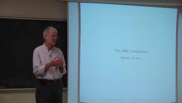 Abc conjecture 2013