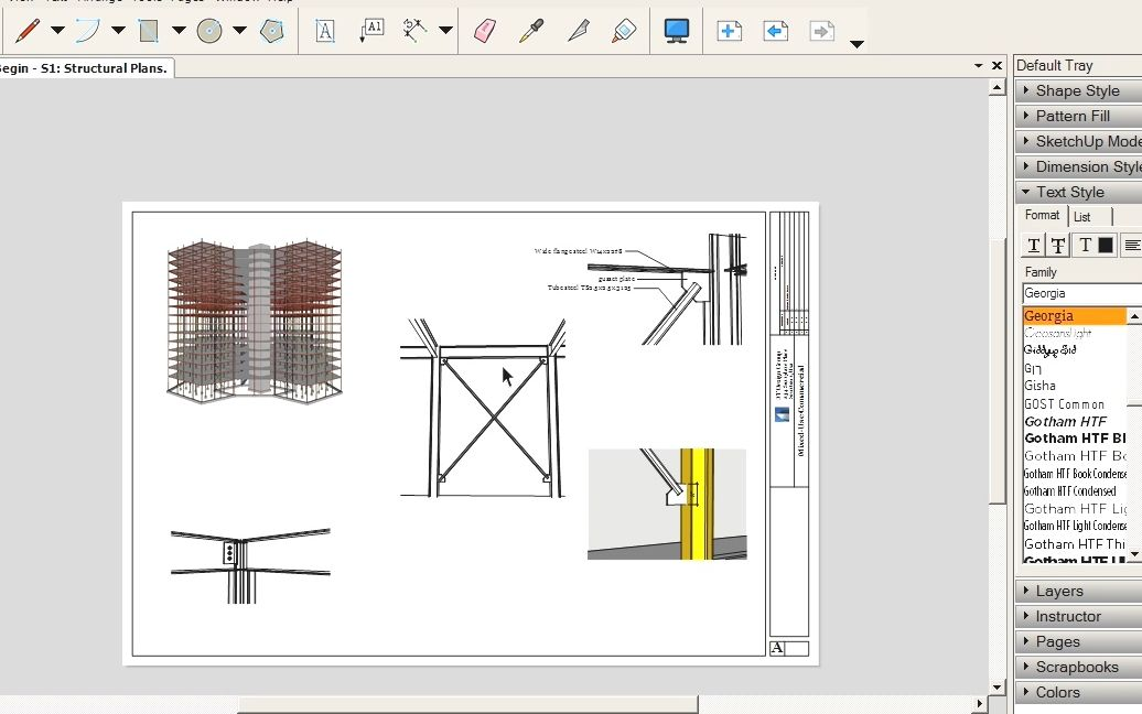 Digital Tutors - Using LayOut to Present Your SketchUp Models and  Concepts_哔哩哔哩 (゜-゜)つロ 干杯~-bilibili