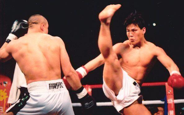 中国散打_中国散打搏击史上最经典一战!柳海龙宝力高到底谁更强!_哔哩