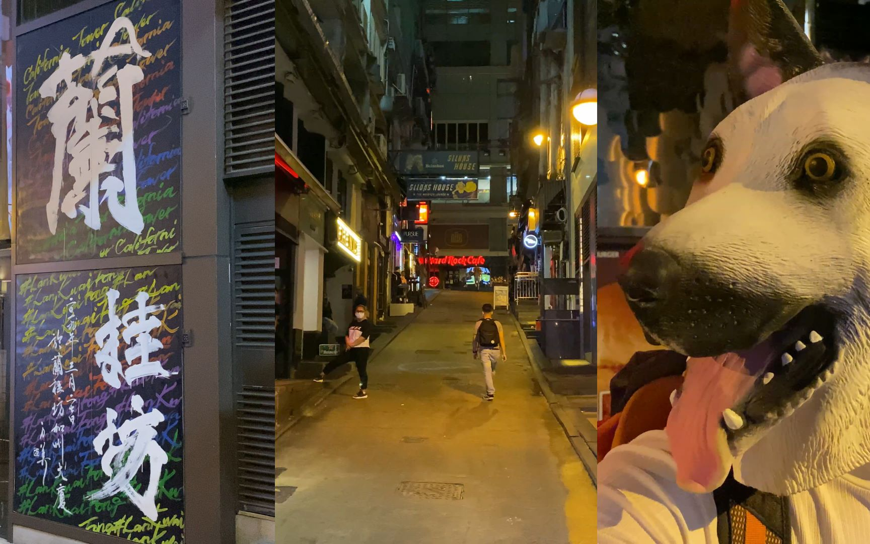 旅游:香港兰桂坊酒吧重开难遇见一个美女本地