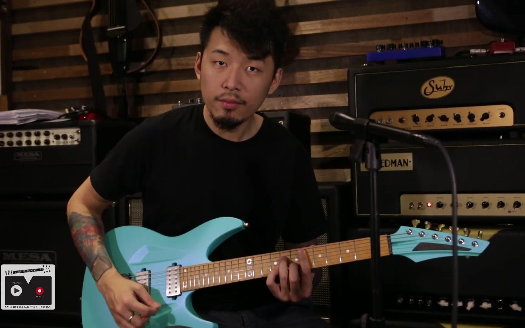 (粤语)瞿俊僖Jason Kui My Aristides Guitar