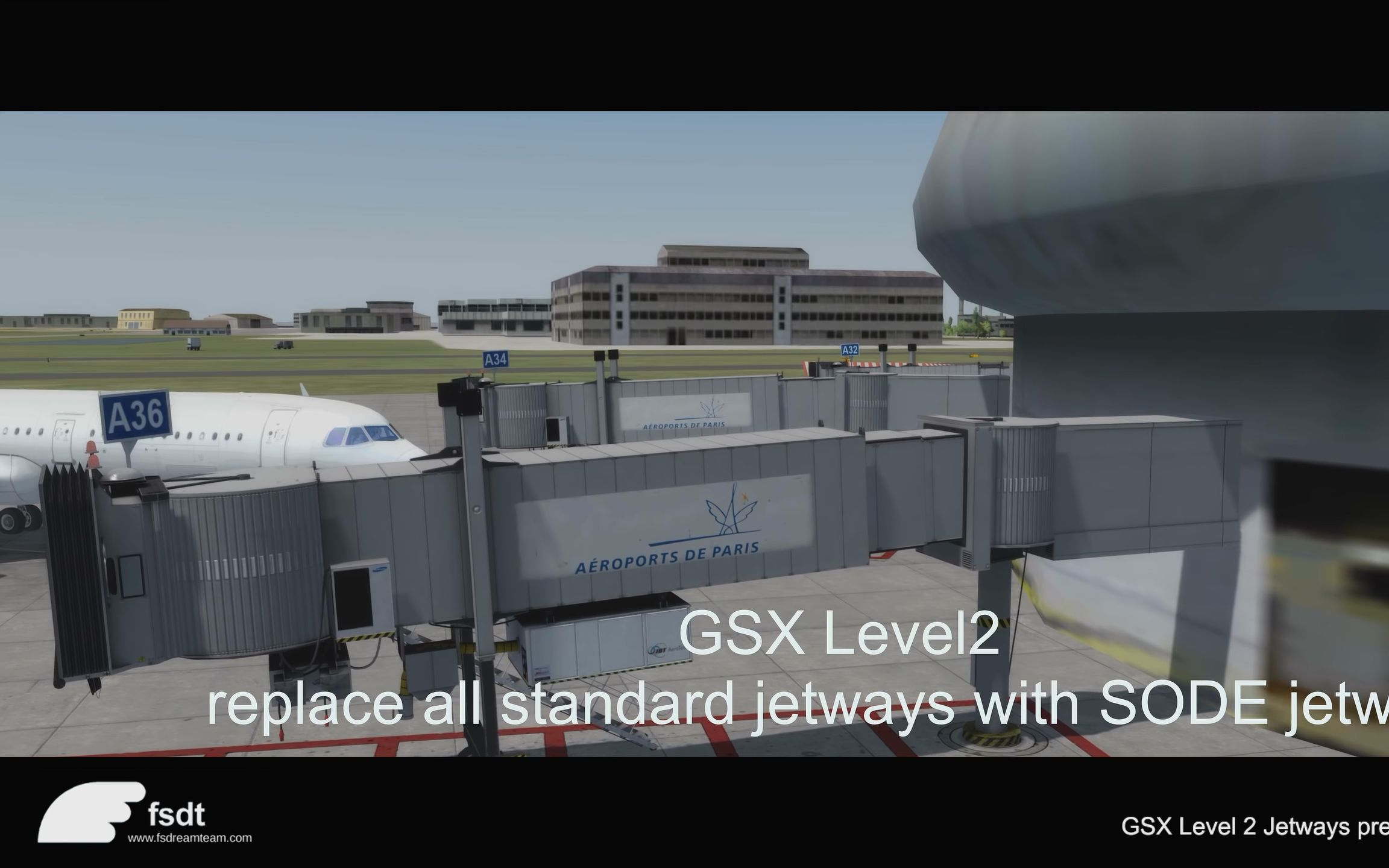 GSX Level 2中廊桥部分的演示_哔哩哔哩 (゜-゜)つロ 干杯~-bilibili