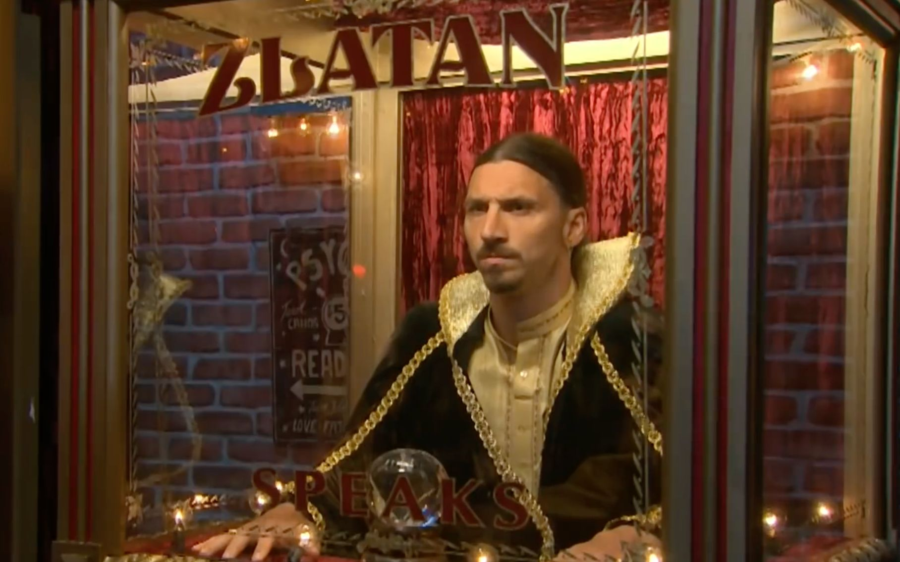 伊布 - 宇宙最强的预言家 Zlatan Ibrahimovic- The Universe's Best Fortune Teller