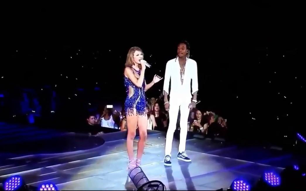 taylorswift演唱会_【霉霉】See You Again饭拍现场 Taylor SwiftWiz Khalifa [89Tour]_哔哩哔哩 ...