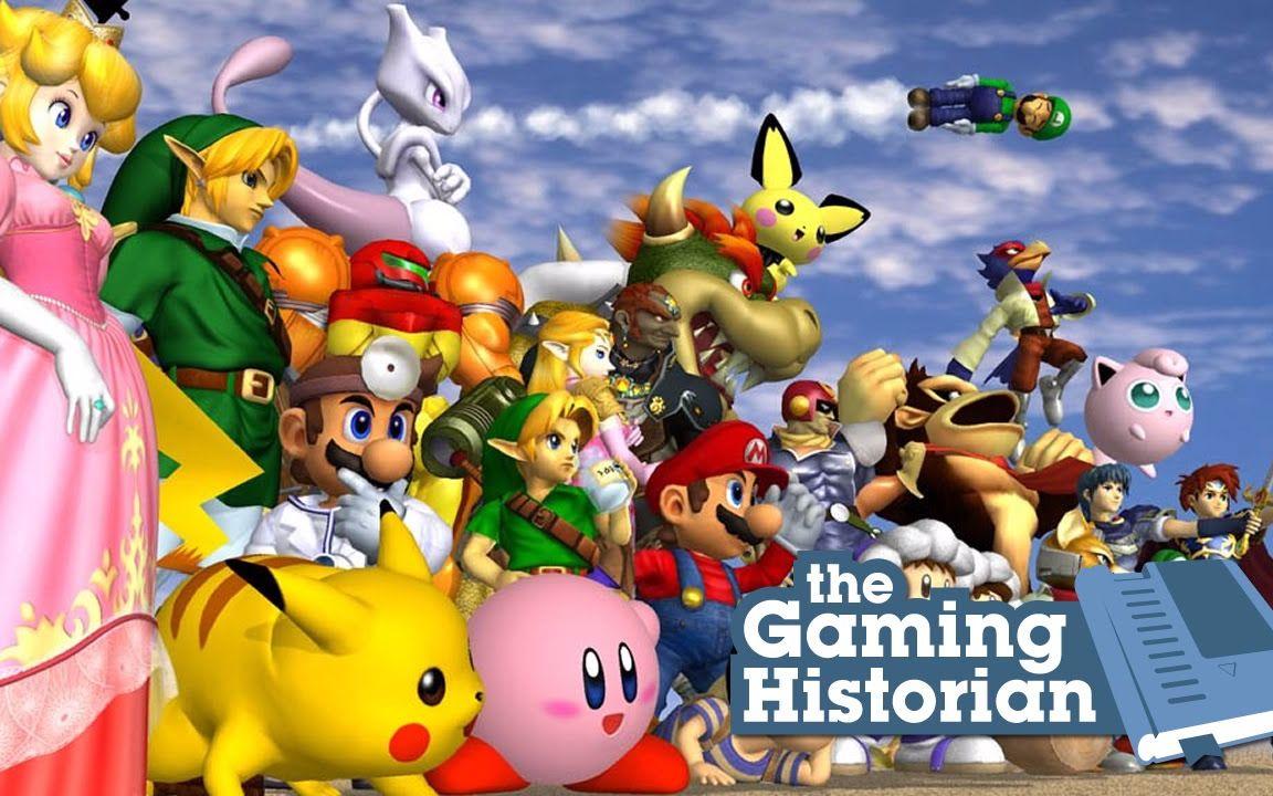 任天堂游戏_【游戏史学家】《任天堂明星大乱斗》的历史(1998-2014)History of ...