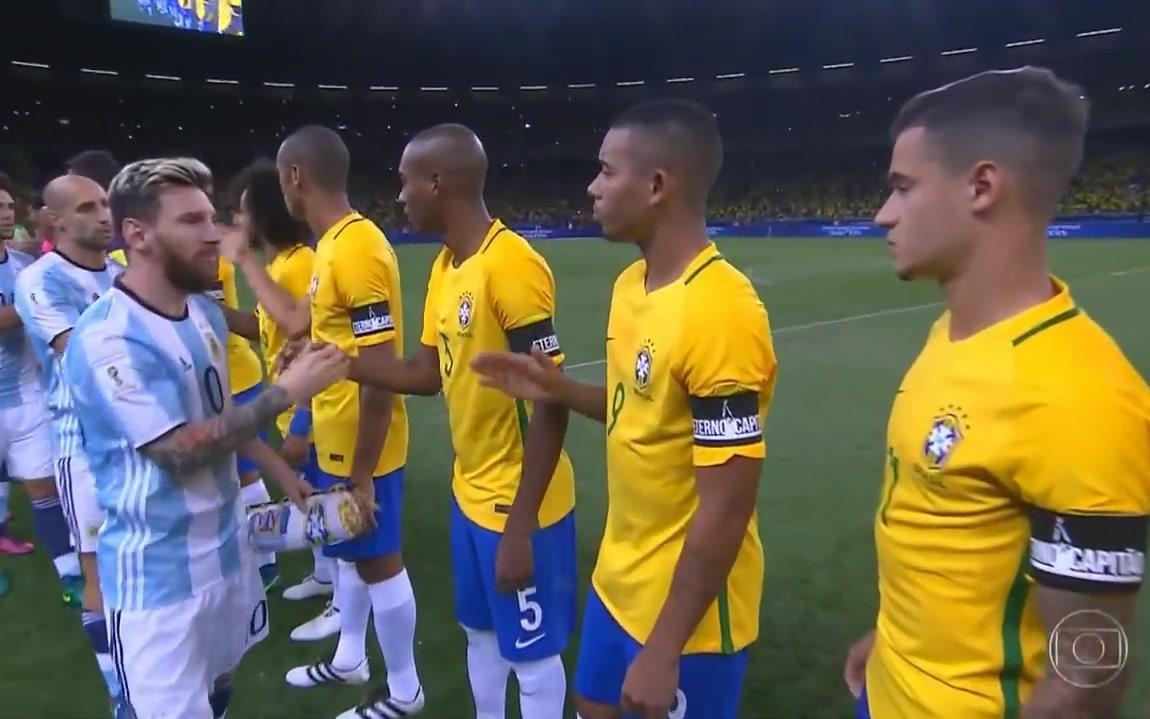 国际足球友谊赛巴西_2016美洲杯:巴西VS阿根廷(全场比赛)_哔哩哔哩 (゜-゜)つロ 干 ...