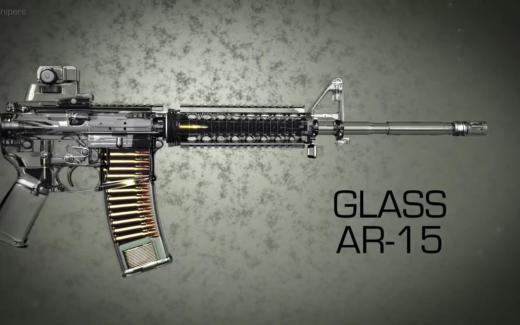 ak47原理图动画_3D展示AR-15自动步枪工作原理_哔哩哔哩 (゜-゜)つロ 干杯~-bilibili