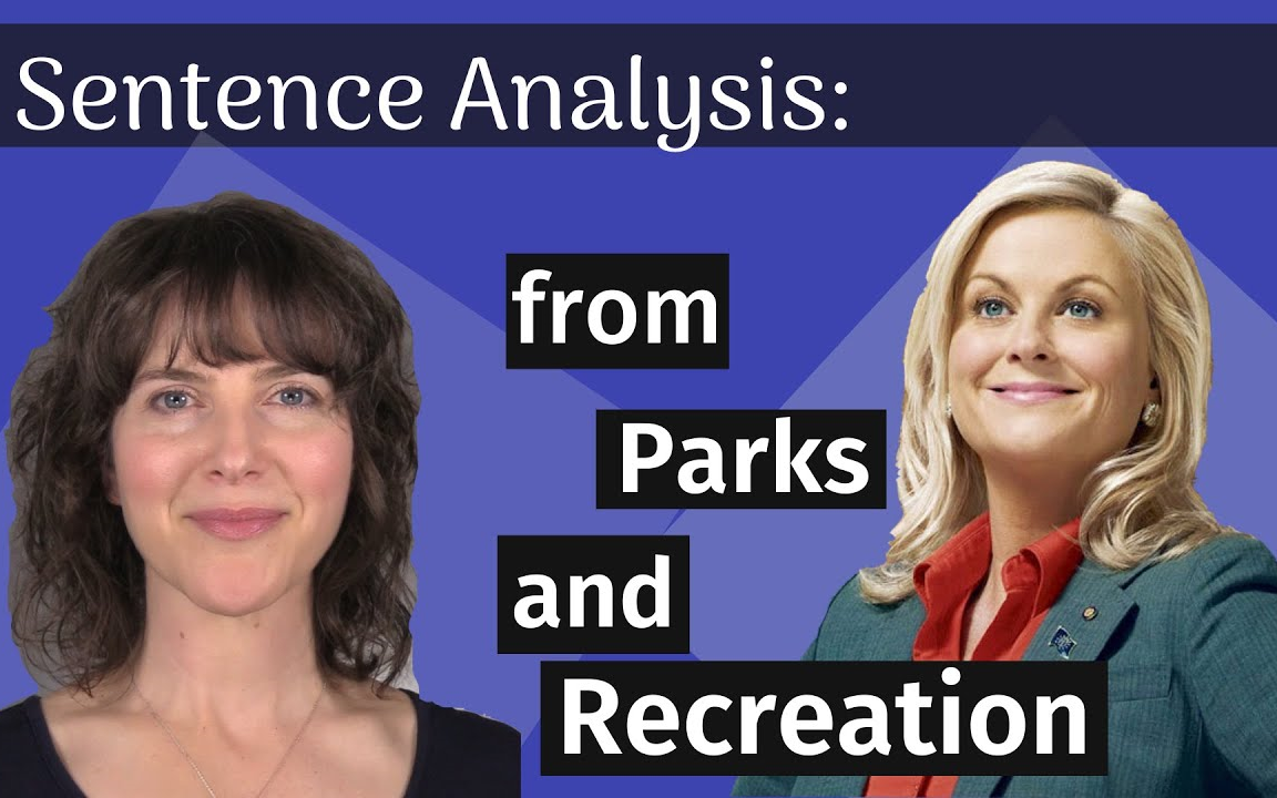[上帝压狗] Sentence Analysis_ Parks and Recreation
